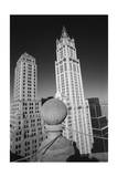 Woolworth Building - Aerial View From Park Row Photographic Print by Henri Silberman