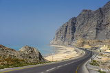 Khasab Coastal Road, Musandam, Oman, Middle East Photographic Print by Michael Runkel