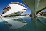 El Palau De Les Arts Reina Sofia, City of Arts and Sciences (Ciudad De Las Artes Y Las Ciencias) Photographic Print by Lee Frost