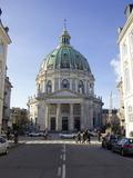 Amalienborg Marmorkirken (Marble Church) (Frederik's Church), Copenhagen, Denmark Photographic Print by Simon Montgomery