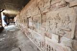 Terracotta Jataka Tiles, Anauk Petleik Paya, Bagan (Pagan), Myanmar (Burma), Asia Photographic Print by Christian Kober