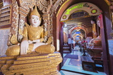 Buddha Statues, Thanboddhay Paya Temple, Monywa, Myanmar (Burma), Asia Photographic Print by Christian Kober
