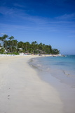 Beach of Bavaro, Punta Cana, Dominican Republic, West Indies, Caribbean, Central America Photographic Print by Michael Runkel