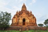 Tourists Waiting for Sunset on a Temple, Bagan (Pagan), Myanmar (Burma), Asia Photographic Print by Christian Kober