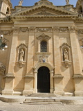 West Front of Parich Church, Naxxar, Malta, Europe Photographic Print by Nick Servian