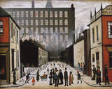 Street Scene (Pendlebury) Giclée-Druck von Laurence Stephen Lowry