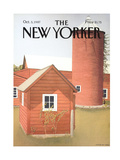 The New Yorker Cover - October 5, 1987 Regular Giclee Print by Gretchen Dow Simpson