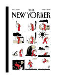 The New Yorker Cover - May 17, 2010 Regular Giclee Print by Joost Swarte