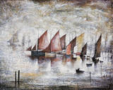 Sailing Boats, 1930 Giclee Print by Laurence Stephen Lowry