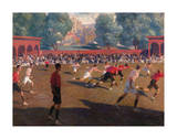 Football Premium Giclee Print by Fedor Ivanovich Zakharov