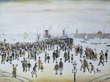 Ferry Boats, 1960 Giclee Print by Laurence Stephen Lowry