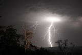 Lightning Photographic Print by Photos by Dennis Quago