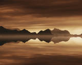 Mirrored Sea Giclee Print by Andreas Stridsberg