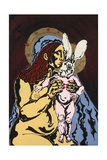 Madonna Hare Giclee Print by Yvette Buigues