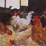 In the Barn Giclee Print by Anuk Naumann