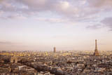 Paris Panorama Giclee Print by Irene Suchocki
