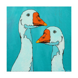 Goose Gander Prints by Yvette Buigues