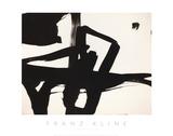 Untitled, 1950 Giclée-tryk af Franz Kline