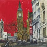 End of the Week, Westminster, London Impression giclée par Susan Brown