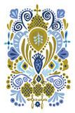 Folk Dreams II Prints by  Callie Crosby and Rebecca Daw