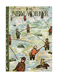 The New Yorker Cover - April 23, 1955 Regular Giclee Print by Abe Birnbaum