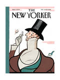 The New Yorker Cover - February 14, 2011 Premium Giclee Print by Rea Irvin