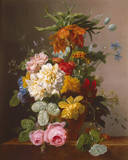 Floral Still Life I Giclee Print by Arnoldus Bloemers