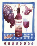 Vin Rouge Giclee Print by Sophie Allport
