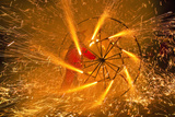 Fire Festival of the Catalonian Regions Photographic Print by Anibal Trejo