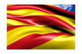 Flag of Catalonia Posters by  Yuinai