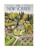 The New Yorker Cover - May 12, 1945 Premium Giclee Print by Edna Eicke