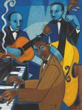 Unforgettable (Nat King Cole) Giclée-tryk af Marsha Hammel
