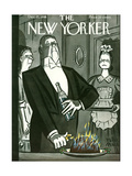 The New Yorker Cover - December 25, 1948 Premium Giclee Print by Peter Arno