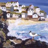 Cornish Coast Impression giclée par Anuk Naumann