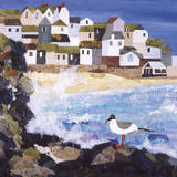 Cornish Coast Giclee Print by Anuk Naumann