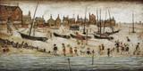 The Beach, 1947 Giclée-Druck von Laurence Stephen Lowry