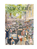 The New Yorker Cover - August 29, 1959 Premium Giclee Print by Garrett Price