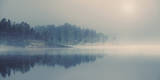 Misty Light Giclee Print by Andreas Stridsberg