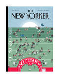 The New Yorker Cover - June 14, 2010 Regular Giclee Print by Chris Ware