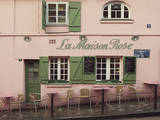 La Maison Rose Giclee Print by Irene Suchocki