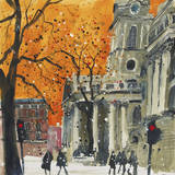 Everyone Welcome, St Martin in the Fields, London Giclee Print by Susan Brown