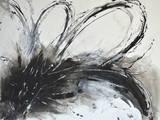 Monochrome Flora I Giclee Print by Caroline Ashwood