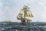 McKay Clipper 'Anglo-American' Giclee Print by Roy Cross