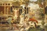 The Roman Bath Giclee Print by Emmanuel Oberhausen