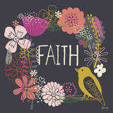 Truly Faith Posters by Lesley Grainger