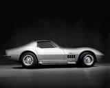 Corvette Stingray Giclée-Druck