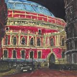 Late Night Performance, Royal Albert Hall, London Giclee Print by Susan Brown
