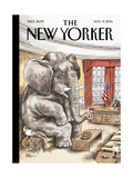 The New Yorker Cover - November 17, 2014 Regular Giclee Print by Ricardo Liniers