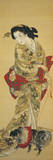 Lady with a Dog Giclee Print by  Joryu