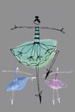 Pretty Ballerinas I Prints by  Callie Crosby and Rebecca Daw